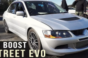 Big Boost High boost Lancer EVO