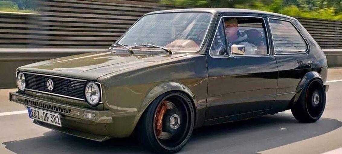 VW Golf 1 16V Turbo