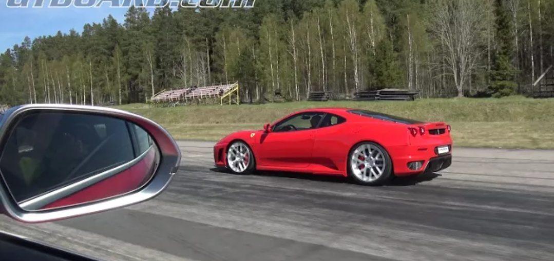 Audi RS6 Ferrari F430 Novitec Rosso