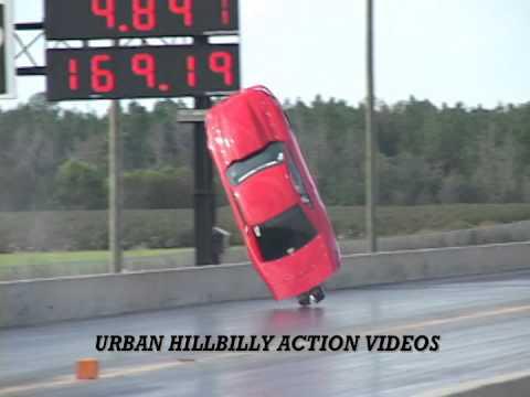 Mustang crash drag