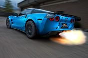 Corvette C6 Z06 Turbo Stance