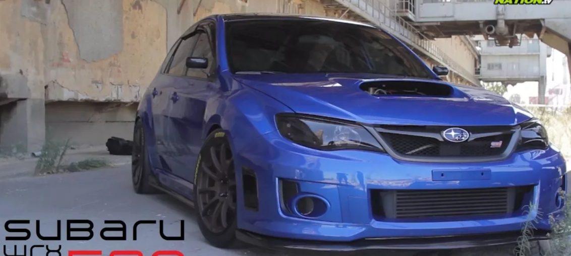 Subaru WRX STI 500HP