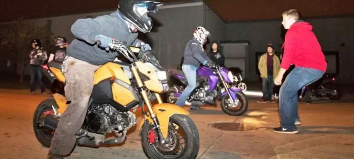 scooter street racing