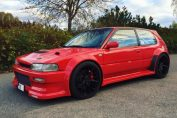 1992 Toyota Corolla with a 2JZ-GTE Inline-Six