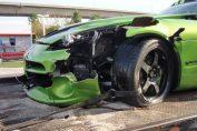 Dodge Viper GTS Crash