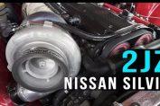 Nissan silvia 2jz swap