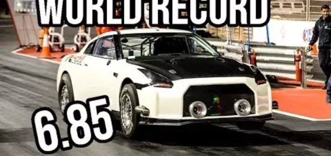 6 second R35 GT-R Skyline world record
