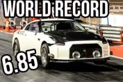 6 second R35 GT-R Skyline world record
