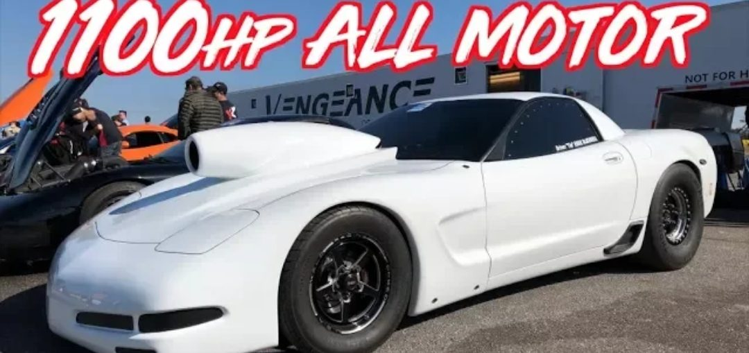 all motor 1100HP Corvette LS
