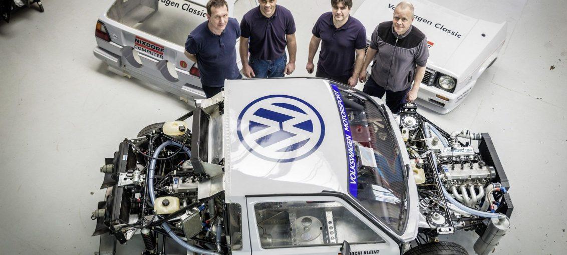 VW Golf Mk2 Twin-Engine Pikes Peak Car