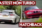 Fastest naturally aspirated hatchbacks