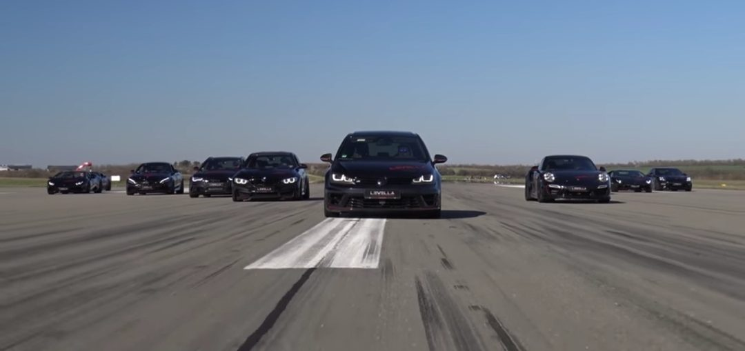 HUGE DRAG RACE
