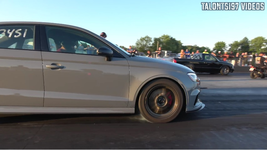 Audi RS3 10 second Stock Turbo