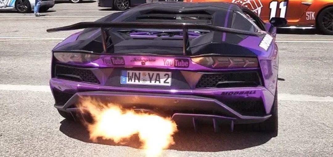 Lamborghini aventador capristo exhaust