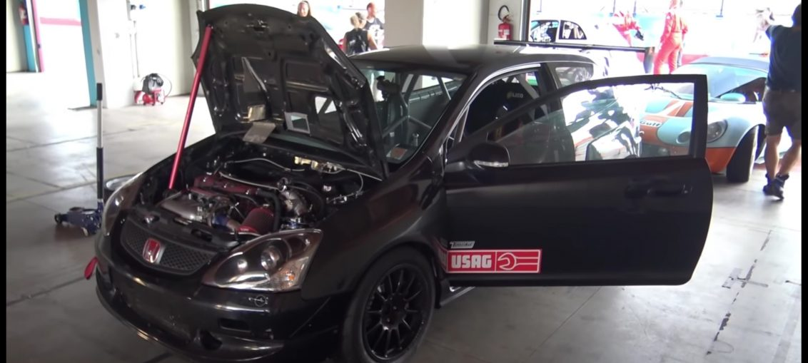 Supercharged k20 civic type R
