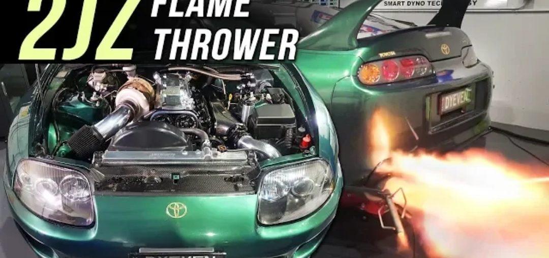 Toyota Supra Stock Engine, 6870 Turbo, Haltech ECU