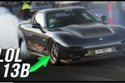 2jz swapped Mazda RX-7