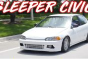 Sleeper Civic Smokes Supercar