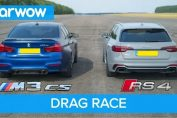 BMW M3 CS vs Audi RS4