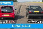 GTI MK2 vs up! GTI