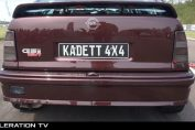 4wd opel kadett c20let turbo
