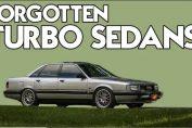 Forgotten turbocharged sedans