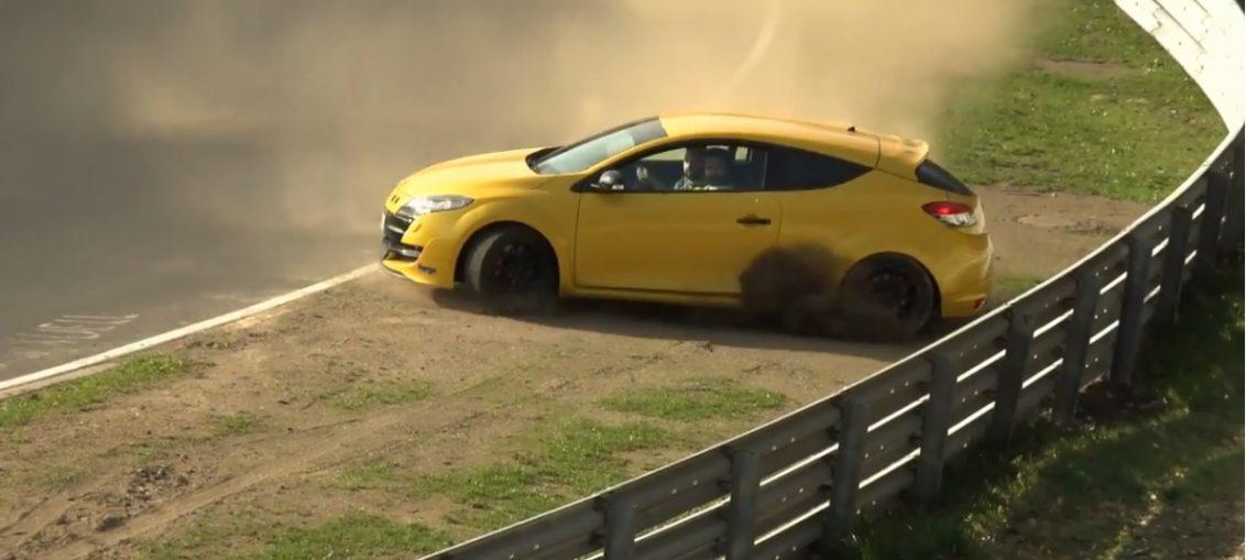 nurburgring almost crashes