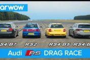Audi RS4 Generations