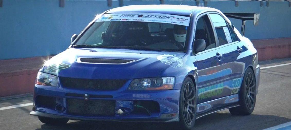 Mitsubishi Lancer Evolution turbo Stance