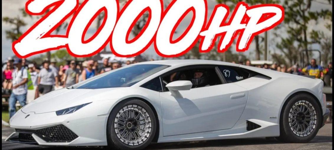 2000HP TWIN TURBO LAMBORGHINI