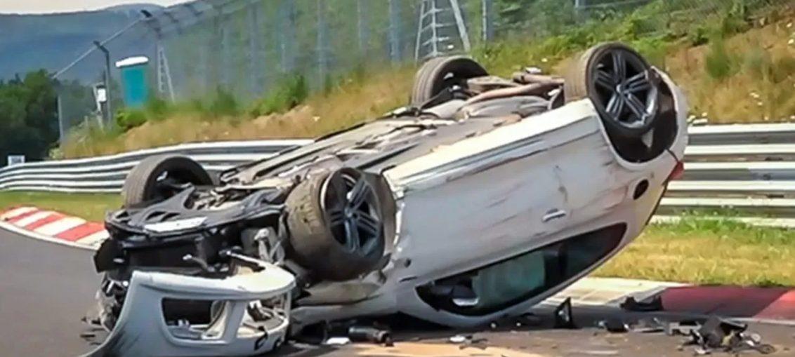 Nurburgring Crashes 2018