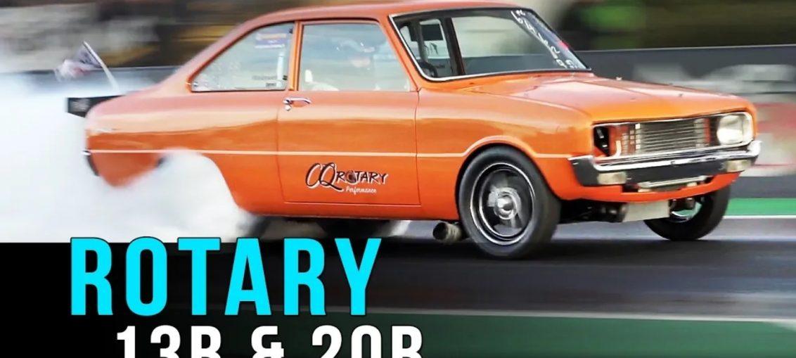 Rotaries drag racing