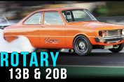 Rotaries drag racing