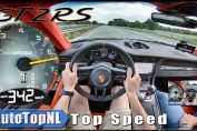 Porsche 911 GT2 RS Turbo Acceleration