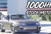 Stock engine Power 2JZ Turbo Supra 1000HP