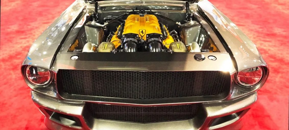 Twin Turbo Ferrari Mustang Project