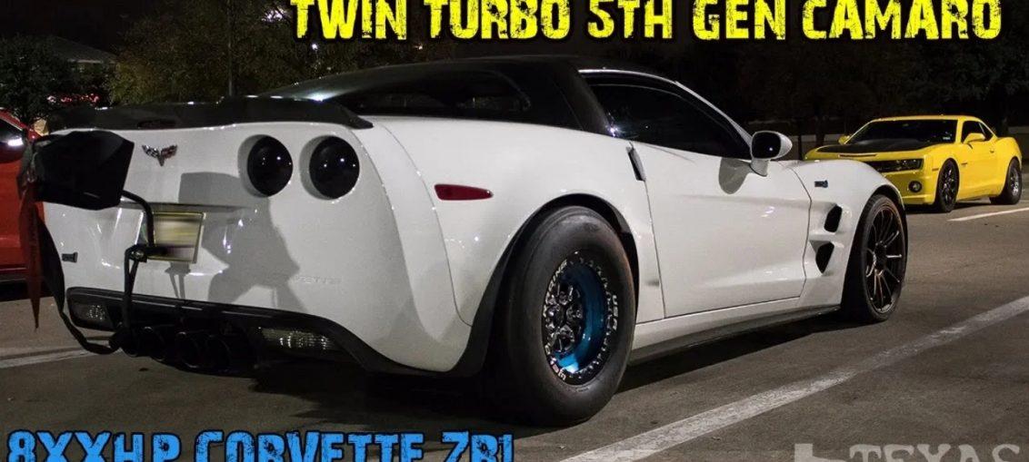 Twin turbo Camaro Corvette ZR1