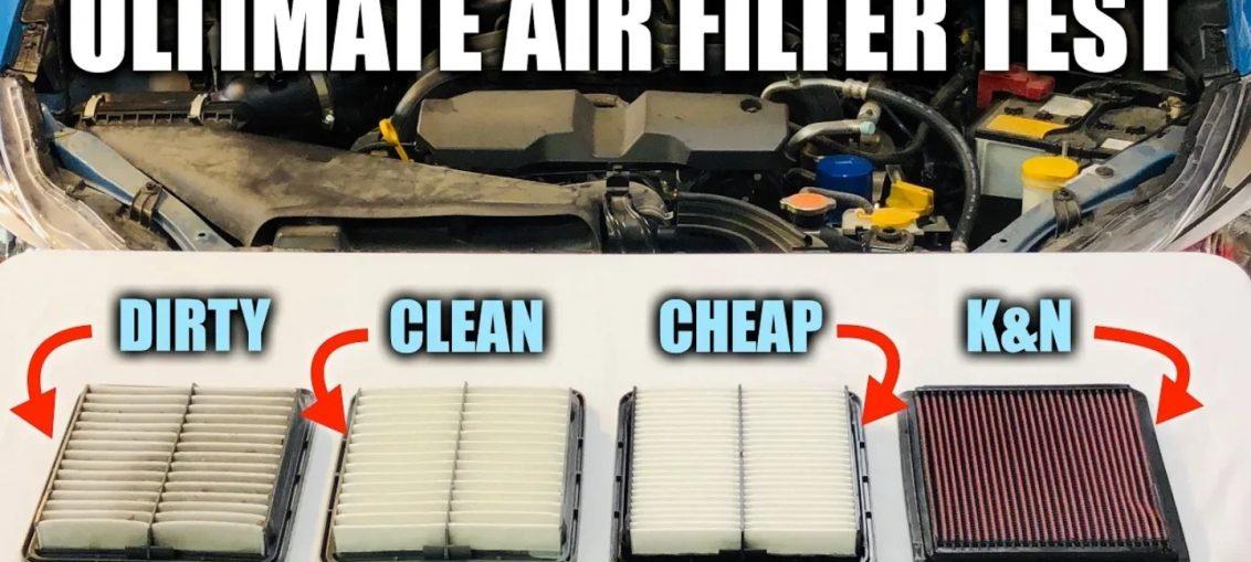 Air filter performance test openair filter