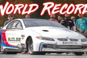 BMW Drag quarter mile world record