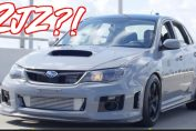 2JZ Swapped Subaru Impreza WRX Sti