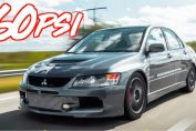 1100HP Sequential Gearbox LAncer Evolution IX
