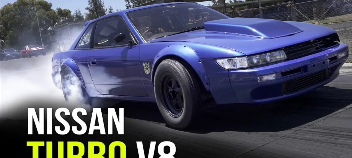LS Swapped Nissan Silvia S13 V8