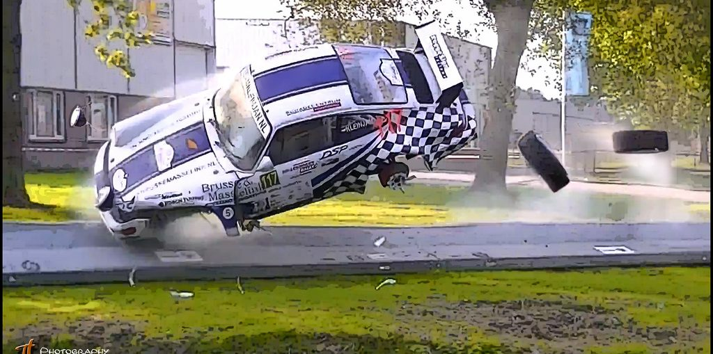 Porsche Crashes fails biggest