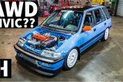 All wheel drive Civic Turbo