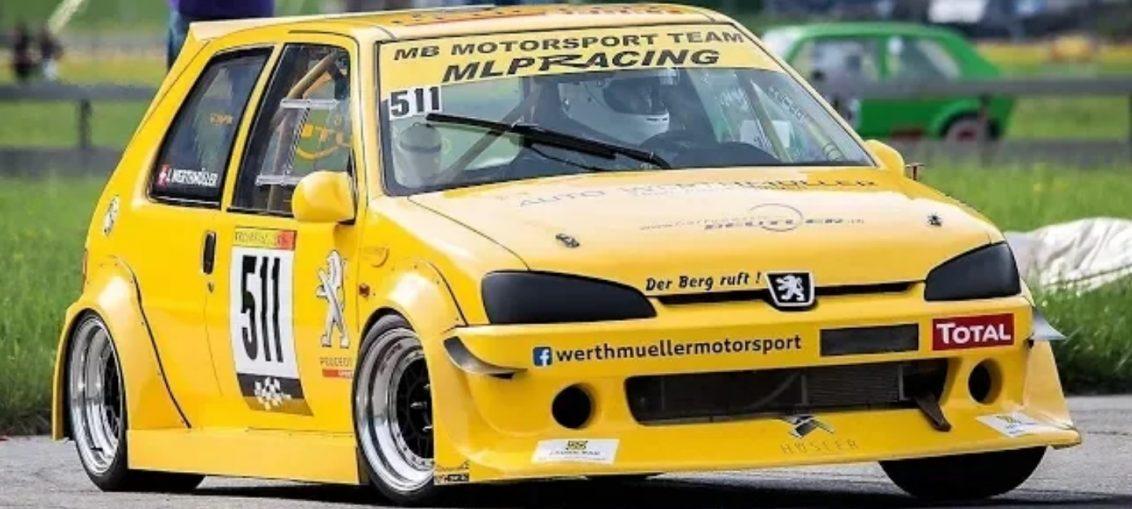 220Hp/9.800Rpm Peugeot 106 GTi