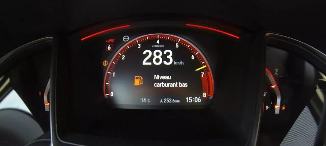 Honda Civic Type R Acceleration
