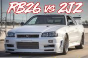 Rb26 vs 2jz skyline supra