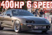 1400HP 6 speed 2jz big turbo supra