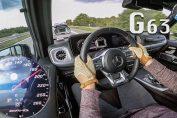 Mercedes G63 amg acceleration