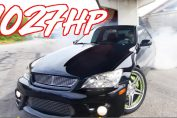 2jz big turbo lexus is300